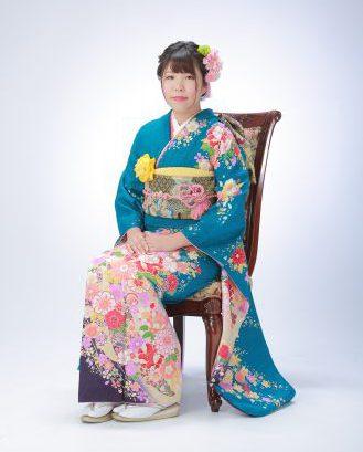 お客様振袖ギャラリー ( 甲斐市 ふうかちゃん )